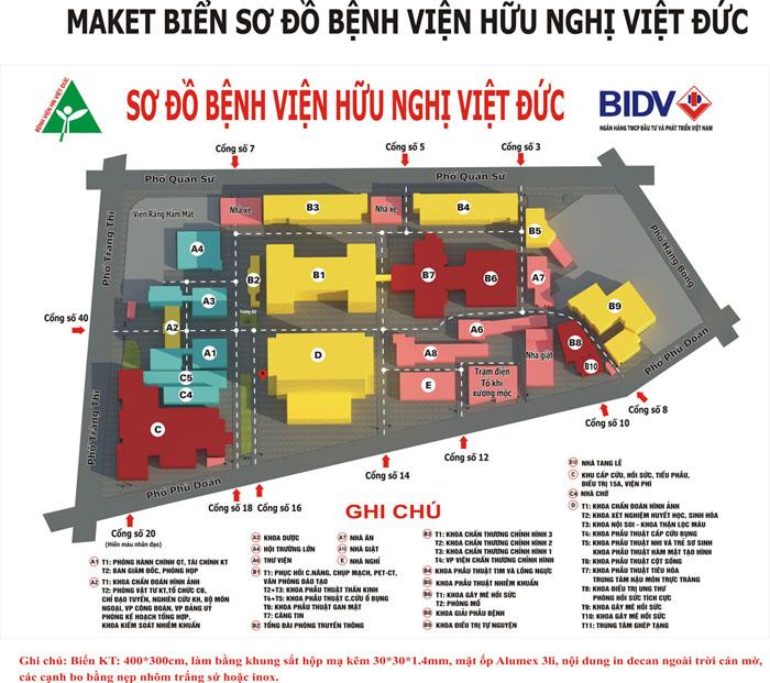 sơ đồ bệnh viện Việt Đức