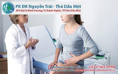 Phòng khám Nguyễn Trãi - Thủ Dầu Một là nơi thu hẹp vùng kín