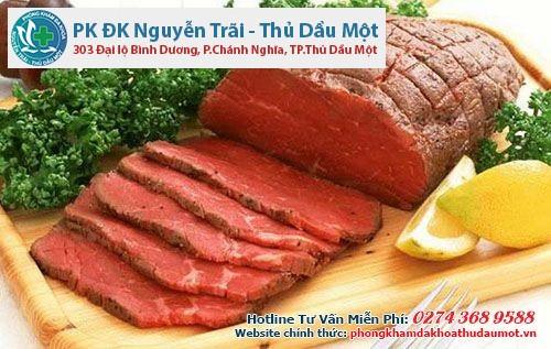 Thịt bò giúp quá trình điều trị bệnh đa nang buồng trứng