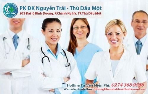 Đa khoa Nguyễn Trãi - Thủ Dầu 1 - chữa bệnh đi tiểu nhiều lần hiệu quả