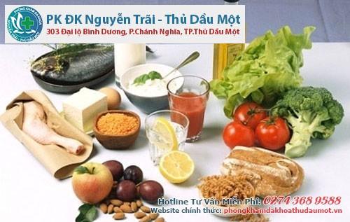 Cần có chế độ dinh dưỡng phù hợp
