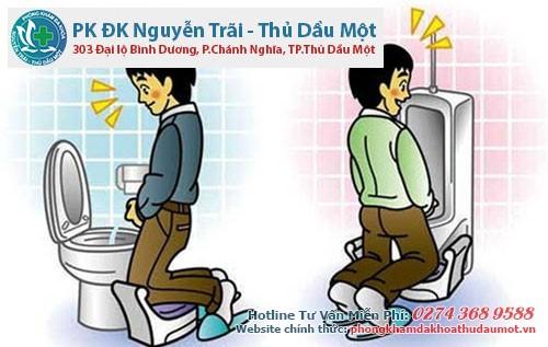 Dấu hiệu bệnh tiểu buốt, tiểu rắt nam giới
