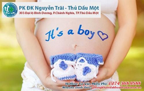 Dấu hiệu mang thai con trai rất nhiều