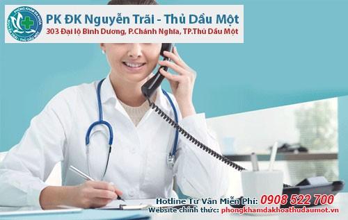 Bác sĩ khám phụ khoa ở Bình Dương TƯ VẤN ONLINE