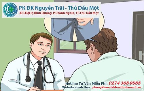 Khi bị viêm hậu môn cần đến gặp bác sĩ để được hỗ trợ điều trị