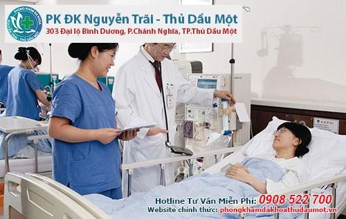 Thái độ ân cần, quan tâm của bác sĩ với bệnh nhân