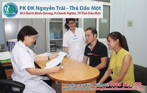 Các khoa ở Phòng khám Nguyễn Trãi - Thủ Dầu Một