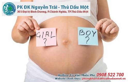 Cách nhận biết thai con trai, con gái không cần bắt mạch