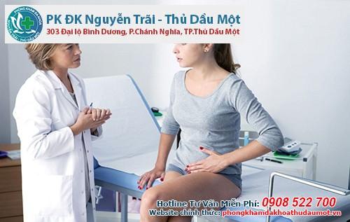 Đến phòng khám Đa khoa Nguyễn Trãi - Thủ Dầu Một để đảm bảo an toàn cho mẹ