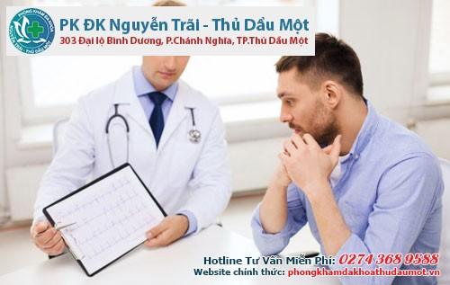 Bác sĩ sẽ xác định bạn mắc bệnh lý nào để từ đó
