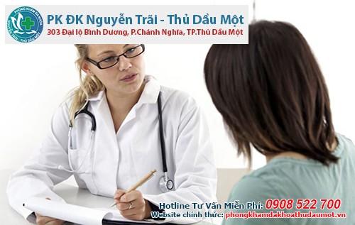 khám viêm phụ khoa tại Đa khoa Nguyễn Trãi - Thủ Dầu Một