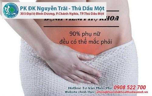 Địa chỉ khám viêm phụ khoa ở Thuận An?