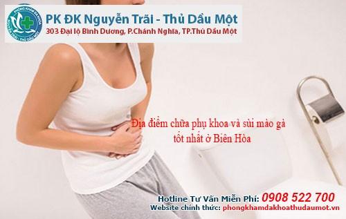 Địa điểm chữa phụ khoa và sùi mào gà tốt nhất ở Biên Hòa