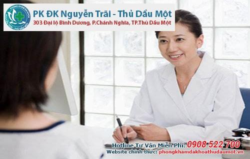 Bác sĩ Đa khoa Thủ Dầu Một tư vấn cách chữa phụ khoa viêm tử cung hiệu quả