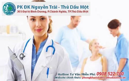 Phòng khám Đa khoa Nguyễn Trãi - Thủ Dầu Một đa dạng về hạng mục thăm khám