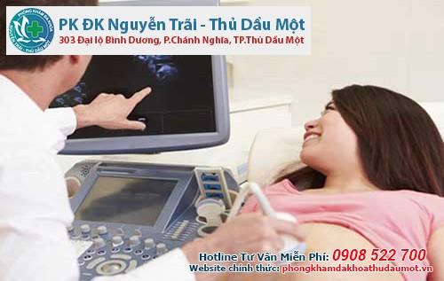 Quy trình siêu âm thai nhanh chóng - chính xác tại Đa khoa Nguyễn Trãi - Thủ Dầu Một