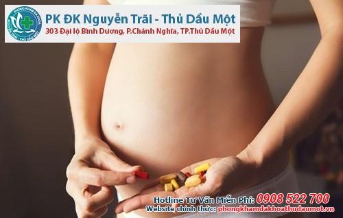 Một số loại thuốc gây sảy thai