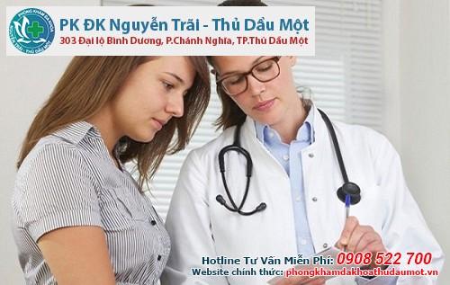 Ngoài bệnh viện Thu Cúc chị em có thể đến phá thai tại phòng khám Đa khoa Nguyễn Trãi - Thủ Dầu Một