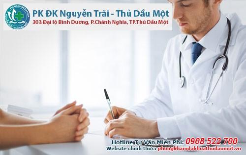 Các bác sĩ phòng khám Đa khoa Thủ Dầu Một sẽ tận tình điều trị các bệnh chuyên khoa