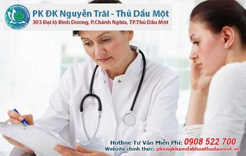 Chọn phòng khám Đa khoa Nguyễn Trãi - Thủ Dầu Một  uy tín để khám bệnh chướng bụng sau hút thai