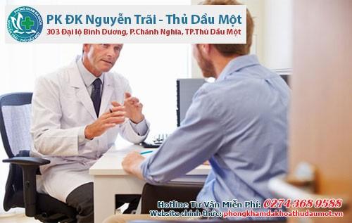 Nếu tình trạng bệnh có diễn biến nặng bạn có thể tìm găp bác sĩ chuyên khoa