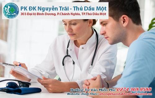 Bác sĩ chuyên khoa sẽ giúp nam giới tìm ra nguyên nhân