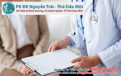Phá thai an toàn bằng thuốc tại Đa khoa Nguyễn Trãi - Thủ Dầu Một về liền trong ngày