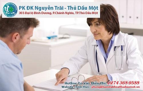 Bác sĩ sẽ hướng dẫn bạn phương hướng điều trị