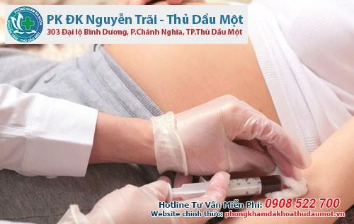 Vì sao phải xét nghiệm máu khi mang thai ở bệnh viện Thủ Dầu Một?
