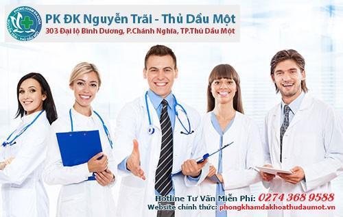 Phòng khám Nguyễn Trãi - Thủ Dầu Một là nơi mà bạn có thể yên tâm