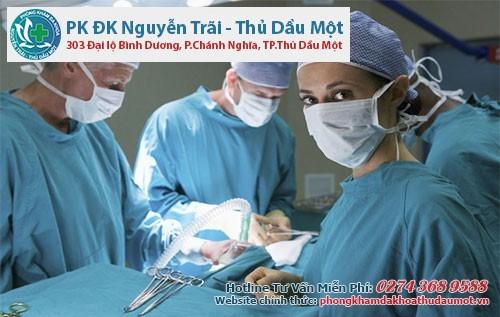 Thủ thuật cắt bỏ khối u xơ tại Đa khoa Nguyễn Trãi - Thủ Dầu Một