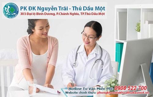 Những lưu ý khi đi khám chữa bệnh phụ khoa nữ giới phòng khám đa khoa thủ dầu một