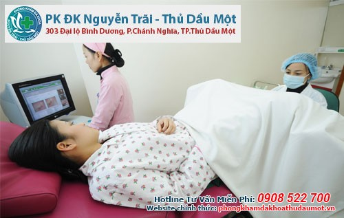 Quy trình khám phụ khoa ở phòng khám Đa khoa Nguyễn Trãi - Thủ Dầu Một