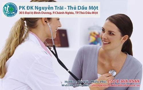 phòng khám Phụ Khoa Thủ Dầu Một chuyên điều trị viêm lộ tuyến cổ tử cung