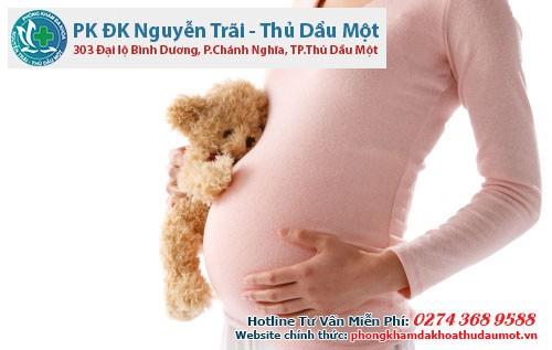 Viêm lộ tuyến cổ tử cung khi mang thai phải làm sao?