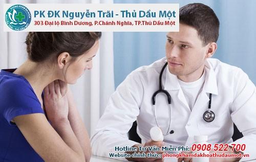 Điều trị bệnh phụ khoa tại phòng khám Đa khoa Nguyễn Trãi - Thủ Dầu Một