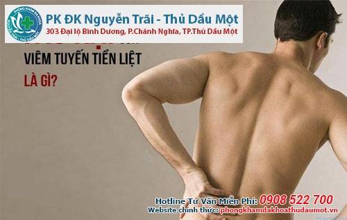 Những tác hại của viêm tuyến tiền liệt ở nam giới