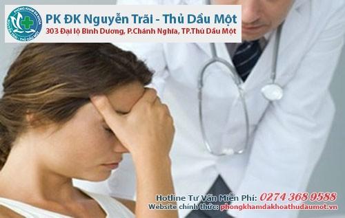 khi xuất hiện triệu của bệnh đến phòng khám Đa khoa Nguyễn Trãi - Thủ Dầu một