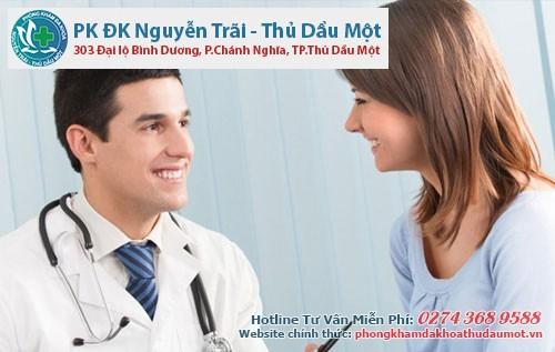 đội ngũ bác sĩ sẽ giúp chị em loại bỏ viêm vùng chậu