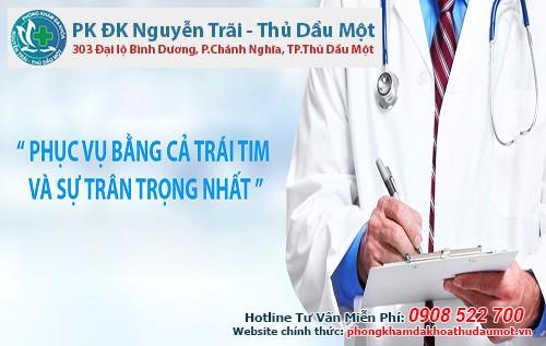 Phòng khám Đa khoa Nguyễn Trãi - Thủ Dầu Một có điều trị xuất tinh sớm bằng thuốc