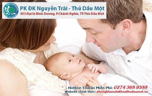 Tư thế quan hệ và chất lượng tinh trùng giúp yếu sinh lí có thể sinh con trai